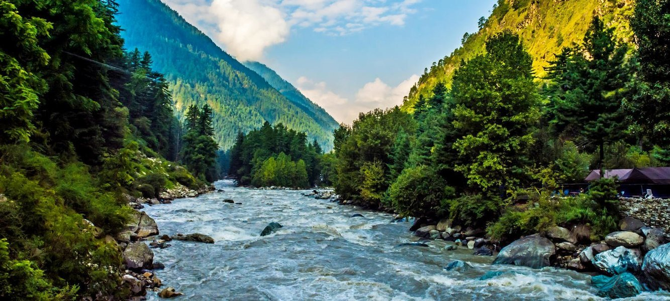 Parvati Valley River